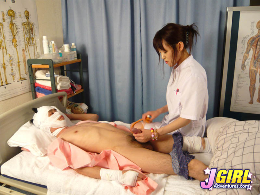 image Japanese nurse gets banged and creampied several times